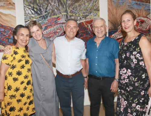 תערוכה בבית ציוני אמריקה